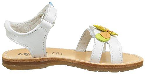 Minibel Kigygy, Sandales fille Blanc (1 Blanc)