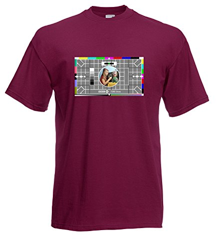 BBC Test Card inspired High Quality T-Shirt - All Sizes All Colours