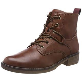 Tamaris Damen 25116-21 Combat Boots, Braun (Cognac 305), 38 EU