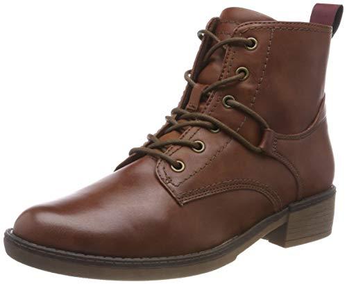 Tamaris Damen 25116-21 Combat Boots, Braun (Cognac 305), 37 EU