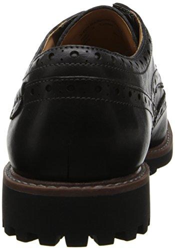 Clarks Montacute Wing Shoe Oxford Black
