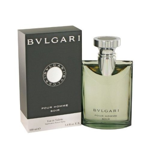 Bvlgari Pour Homme Soir by Bvlgari Eau De Toilette Spray 3.4 oz / 100 ml for Men + BVLGARI BLV (Bulgari) by Bvlgari...