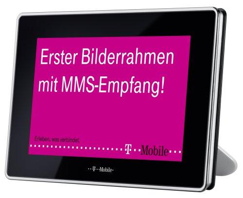 T-Mobile Digitaler Bilderrahmen (17,8 cm (7 Zoll) Display, 100 MB interner Speicher, )