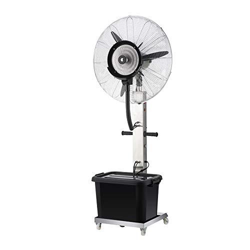 Ventilatoren MEIDUO Kühlen Industrielle Sprühnebel-Fan-Fabrik, die atomisierenden Luftbefeuchter 260W / 350W / oszillierend / 3 Geschwindigkeiten stäubt Schwingung Funktion (größe : 65CM(260W)) -