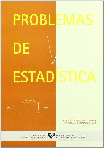 Problemas de estadística por Teresa García del Valle Irala