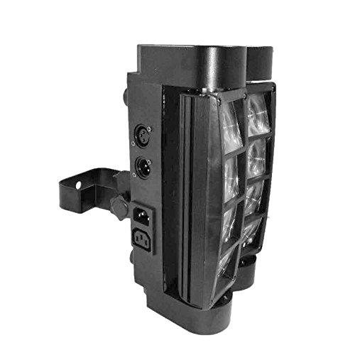 Docooler 90W RGBW 12.06 Kanäle LCD DMX512-Ton aktivierte Auto Lauf Mini Spinne Bühne Beam Licht Headed bewegen Drehbare Effektleuchte mit...