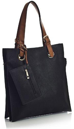 Tasche Big One Handbag Schwarz Tote Damen Schwarz Shop IIrO6