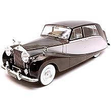 ROLLS ROYCE SILVER WRAITH EMPRESS BY HOOPER 1956 BLACK/SILVER 1:18 - ModelCarGroup - Auto d'Epoca - Die Cast - Modellino
