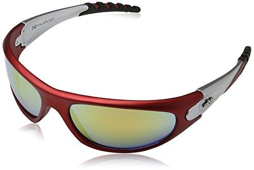 X-Loop Sonnenbrillen - Sport - Radfahren - Skifahren - Squash - Motorradfahrer / Mod. 2610 Dunkelgrau 8CsUVzMk