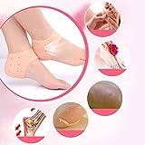 ShoppoZone Moisturizing Silicone Gel Heel Socks Cracked...