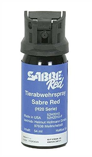 SABRE RED Tierabwehrspray H20 Serie 54ml -