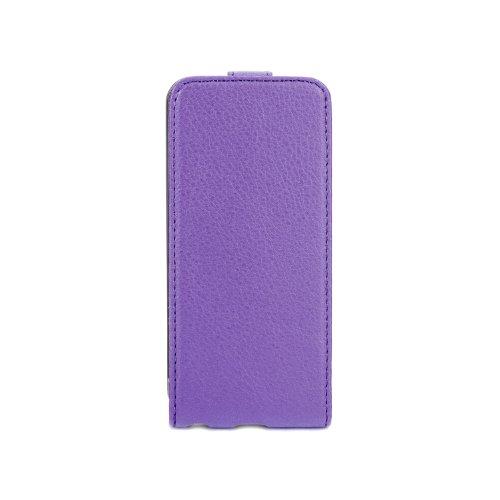 Xqisit 15127 Flip Custodia per iPhone 5c, Rosa Porpora