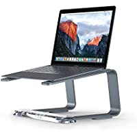 Griffin Elevator Computer Laptop Stand - Matte Space Grey/Clear