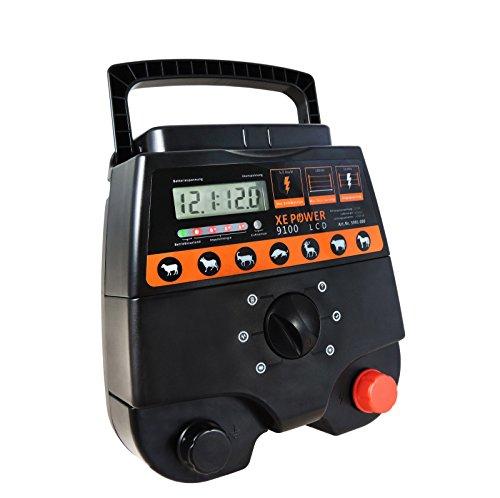 Weidezaungerät Eider XE Power 9100, 12V & 230V Kombigerät, wahnsinnige 12.000V bei 6,00 Joule -
