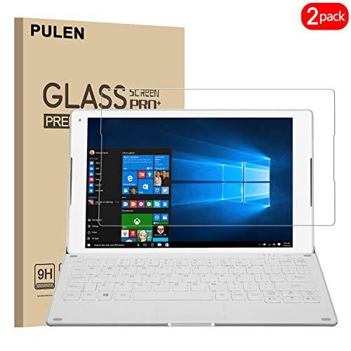 PULEN [2 Pack] Alcatel Plus 10 Tablet Panzerglas Schutzfolie,Hartglas Glas Display schutzfolie [Bubble-frei][Fingerabdruck-frei] hochwertigem gehärtetem Folie for Alcatel Plus 10 Tablet (10.1 Zoll)