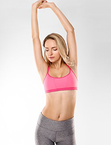 CRZ YOGA Damen Yoga Sport BH - X-Rücken,bügellos,abnehmbare Polsterung Mehrfarbig #7