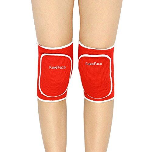 1 Paar Knieschoner Knieschützer Kniebandage Winter Wärmeschutz Baumwolle Knieorthese für Freizeit und allerlei Sport,Fußball Laufen Tanzen
