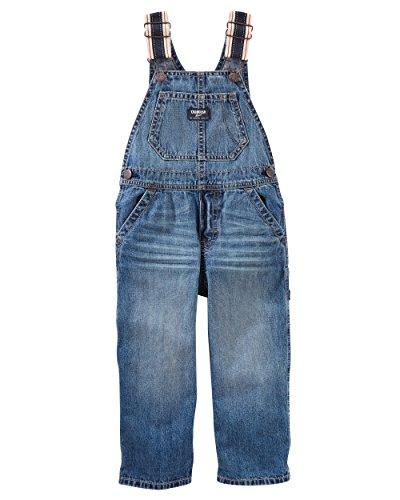 OshKosh Kinder Jungen Jeans Overall Latzhose Blau (104) Oshkosh Overall