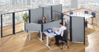 Séparateur de bureau pour épaisseur plateau mm meubles de bureaux