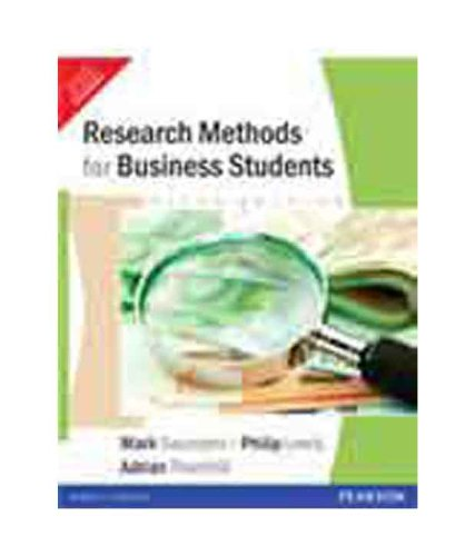 Research Methods For Business Student 5Th Edition