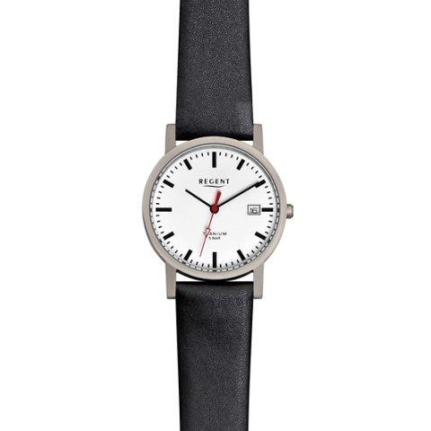REGENT F231 - Reloj para hombres color negro