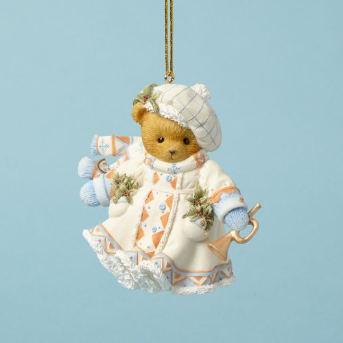 ENESCO Cherished Teddies Collection Bear Laplander Ornament