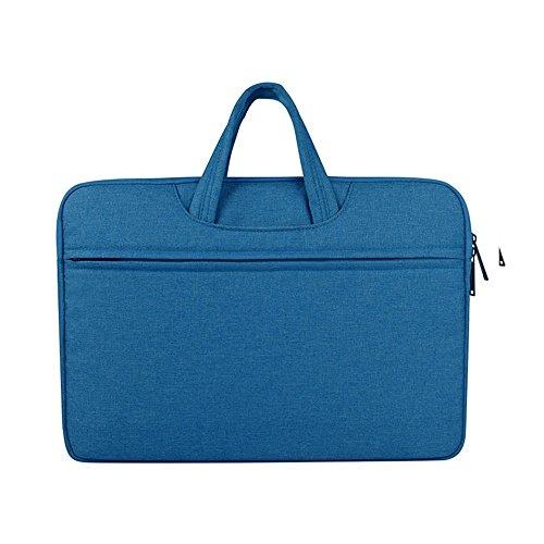 Victorinox-aktentasche Aus Leder (wasserdichte tragbare handtasche männer/frauen laptop - tasche business computergehäuse aktentaschen notebook tasche luft pro mit 15,6 zoll,blauer himmel,das 15,6 zoll)