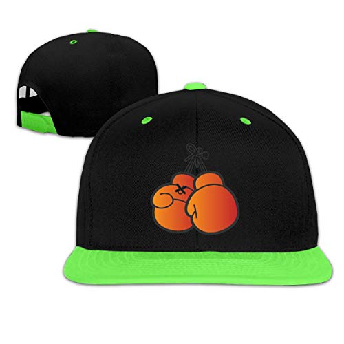 Orange Boxing Gloves Boy and Girls Hip Hop Baseball Hats Orange Scrub Cap