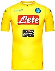 2017–2018Napoli Kappa Authentic camiseta de fútbol (niños), Amarillo