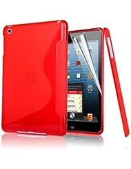 Excellent Value S Line IPAD Apple 4 Cover vague de gel de silicone pour Apple iPad 4, Ipad3 Ipad 2 ROUGE