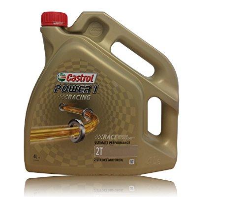 Castrol Motorenöl Power 1 Racing 2T / Kanister transparent 4L Motorrad