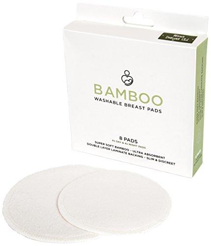Boîte de 8 coussinets d'allaitement lavables en bambou Mama Designs