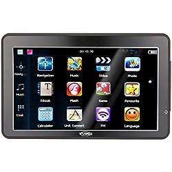 Tvird GPS Auto du Europe 9 Pouces Navi Appareil de Navigation avec mises à Jour de Carte à Vie Gratuite Toute l'europe pour l'autobus de Voiture Écran Tactile de Voiture Navigation multilingue