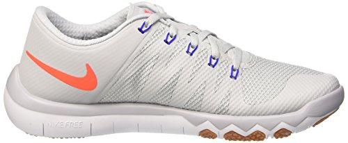 Nike Free Trainer 5.0 V6, Scarpe da Corsa Uomo, 41 EU Multicolore (Pr Pltnm/Ttl Crmsn-Wlf Gry-Rcr)