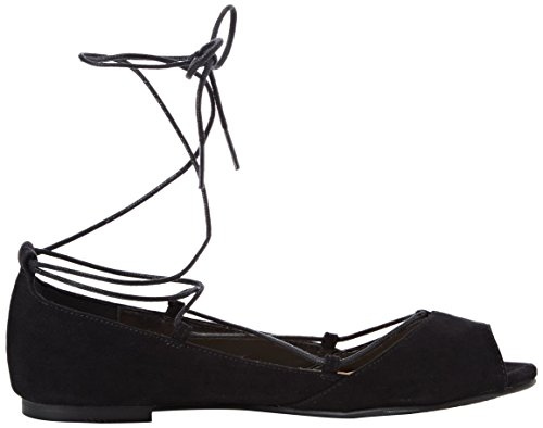 New Look - Knocci, Sandali Donna Nero (01 Black)