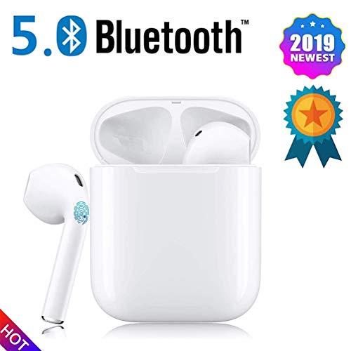 Bluetooth-Kopfhörer,kabellose Touch-Kopfhörer HiFi-Kopfhörer In-Ear-Kopfhörer Rauschunterdrückungskopfhörer,Tragbare Sport-Bluetooth-Funkkopfhörer,Für Apple Airpods Android/iPhone/Samsung.