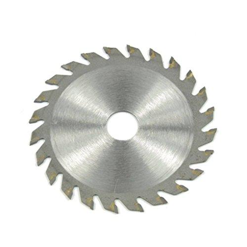 Lorjoyx 85 mm Diámetro de aleación Dura pequeña Sierra Circular de Cuchillas rotativas Herramientas de Corte para Madera Metal Adapta Materiales Plásticos