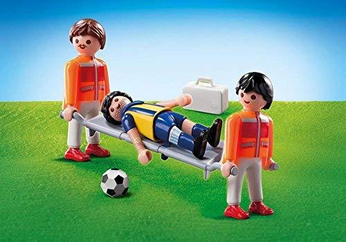 Playmobil 9826sanitario jugador fútbol pantalla