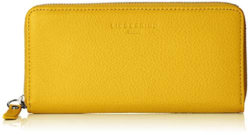 Liebeskind Berlin Damen Basic Slg Gigi Wallet Large Geldbörse, Gelb (Tawny Yellow), 2.0x10.0x19.0 cm - Basic Wallet