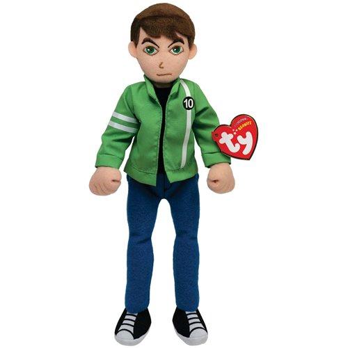 Image of Ben 10 Ty Beanie Baby Soft Toy Ben 10