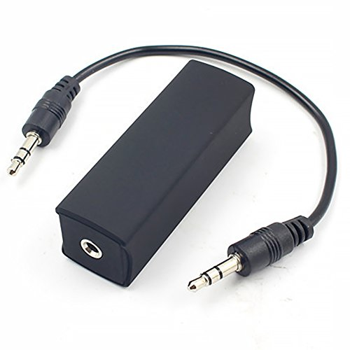 Neue Hochwertige Ground Loop Noise Isolator Ground Loop Noise Filter Isolator & 3,5 mm Kabel für Home Stereo Car Audio System Car Audio Batterie Isolator