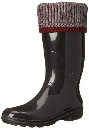 Kamik Women's Lancaster Insulated Rain Boot, Burgundy, 9 M US