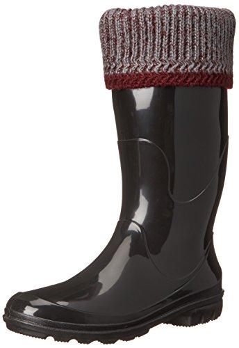 Kamik Women's Lancaster Insulated Rain Boot, Burgundy, 9 M US (Rain Womens Insulated)