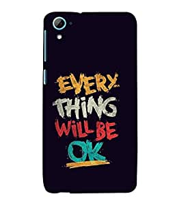 printtech Cool Quotes Back Case Cover for HTC Desire 826::HTC Desire 826 Dual