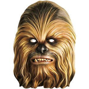 Chewbacca - Star Wars Maske