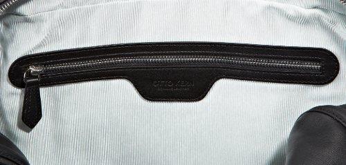 OTTO KERN Laptoptasche Livorno 1 Black, Unisex-Erwachsene Schultertaschen, schwarz (Black), 41X31X14 cm (B X H X T) Schwarz (Black)