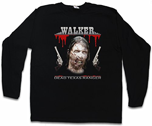 Urban Backwoods Dead Texas Ranger Long Sleeve T-Shirt - Daryl Dixon The Walking Chuck Norris Dead Long Sleeve T-Shirt Sizes S – 2XL