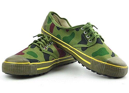 SHIZDC Hommes Jungle Camouflage Digital Chaussures de formation Chaussures de camouflage Chaussures en coton Chaussures Low-Top Sneakers Chaussures de camouflage Chaussures de randonnée en plein air C camouflage