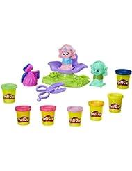 Play-Doh b9027eu40DreamWorks Trolle Press 'N Style Salon Spielzeug