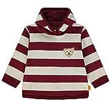 Steiff Jungen Sweatshirt 1/1 Arm, Rot (Burgundy|Red 2761), 110
